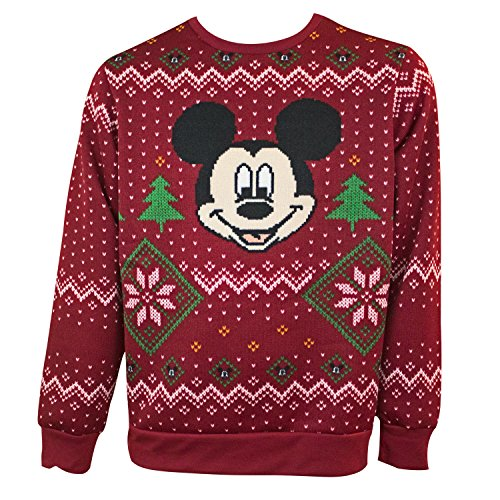 Women's Mickey Mouse Ugly Christmas Sweater