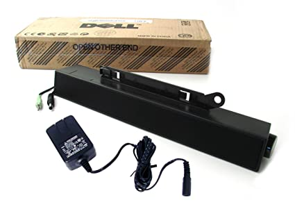 Dell C730C SoundBar Sound Bar Speakers AX510 With Generic Power Adapter for  Dell UltraSharp LCD Flat Panel Monitors