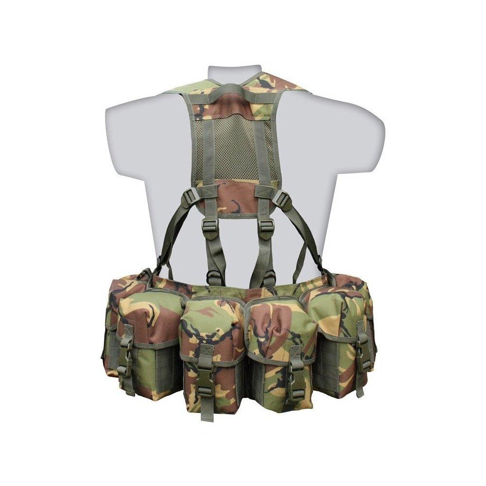 Kombat Airborne MOLLE Gurtband System 10-teiliges Set DPM