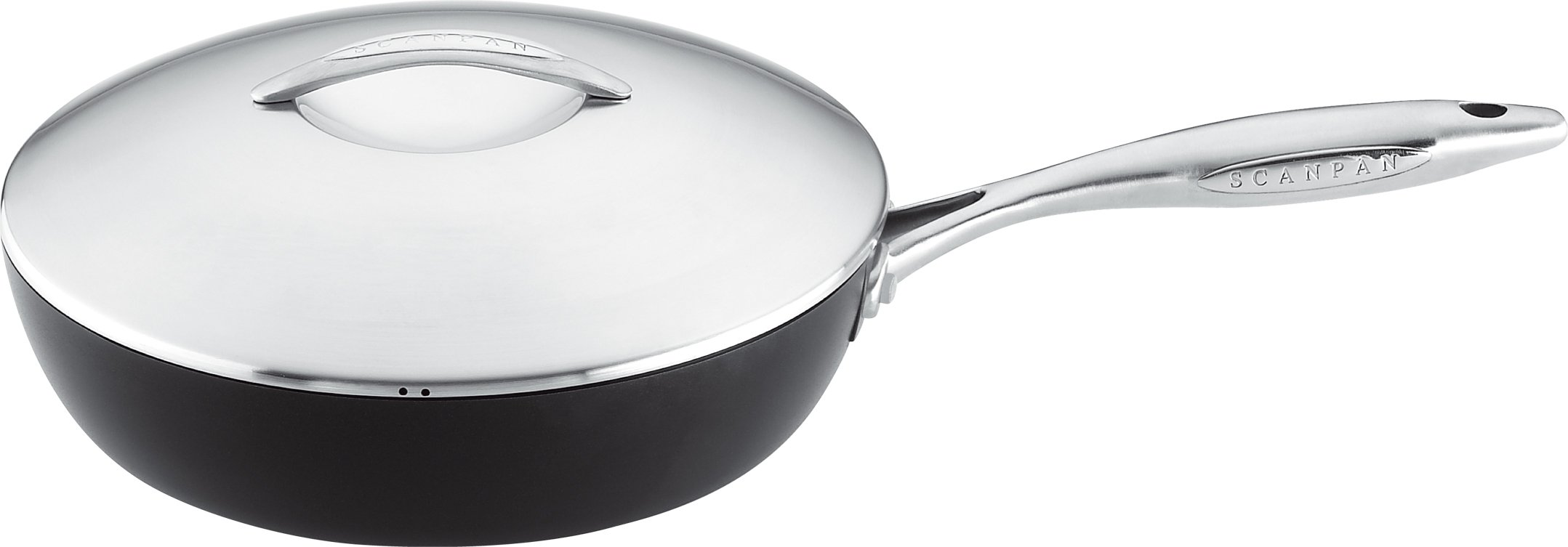 Scanpan Professional Covered Saute Pan 11-Inch by 3.25 QT