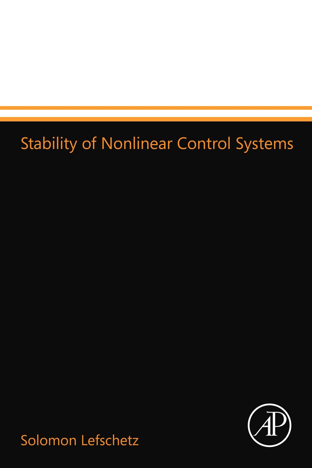 Read Online Stability of Nonlinear Control Systems ebook