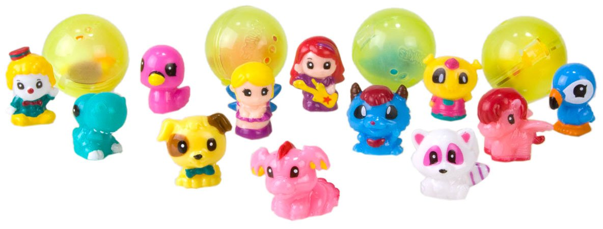 Disney-Princess-Squinkies-Set-Cinderella-Bubble-Pack-Boys-Barbie-Fuzzies thumbnail 27