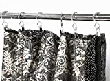 Kinteshun Gutter Hangers for Lights,Stainless Steel Curtain Clip Party String Light Hanger Hook Wire Holder for Outdoor Activities