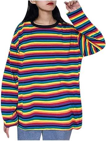 Hink Blusa para Mujer, Sudadera de Mujer para Damas y niñas, Color a Juego, Manga Larga, Bolsillo, suéter con Capucha, Blusa y Blusa de Manga Larga Multicolor Multicolor M: Amazon.es: Ropa y