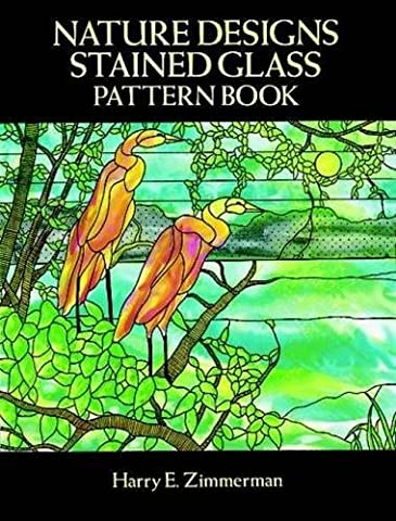 Nature Designs Stained Glass Pattern Book (Dover Stained Glass