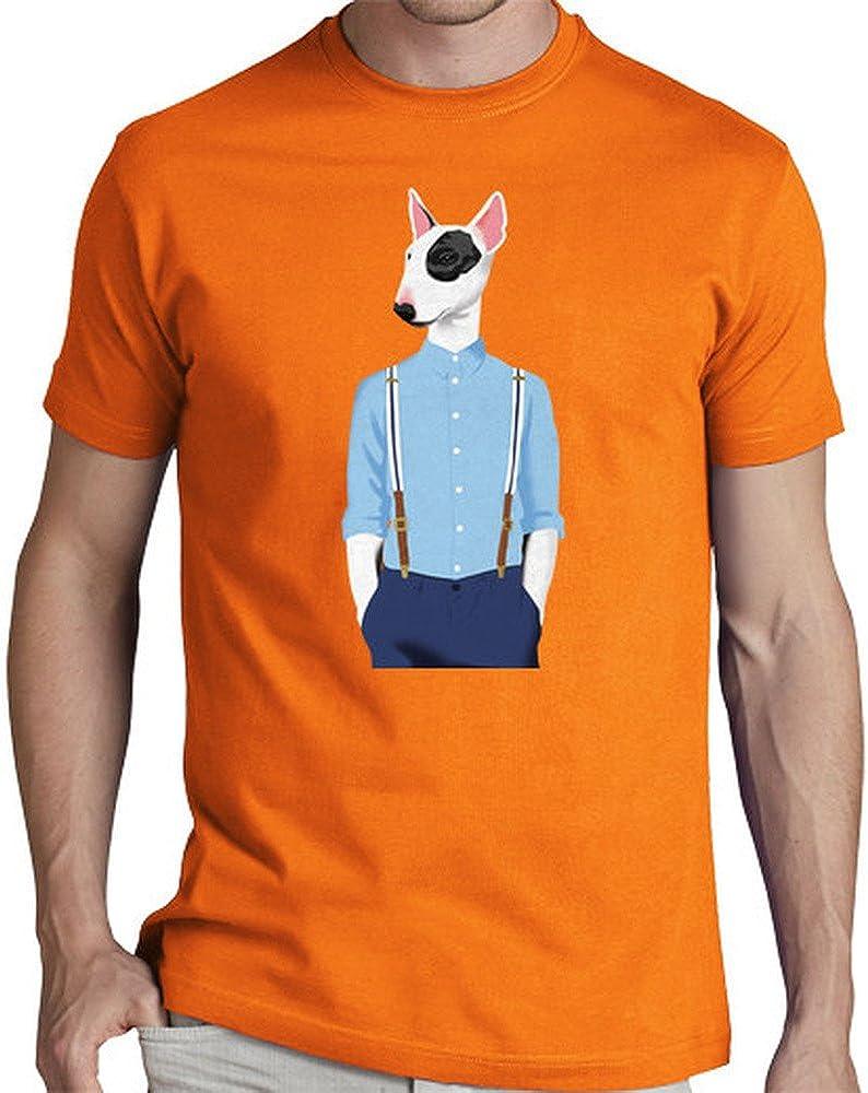 latostadora Camiseta Bull Terrier Skinhead - Camiseta Hombre clásica, Naranja Talla XXL: pete: Amazon.es: Ropa y accesorios