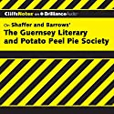 The Guernsey Literary and Potato Peel Pie Society: CliffsNotes Audiobook by Elizabeth Conner Narrated by Kate Rudd