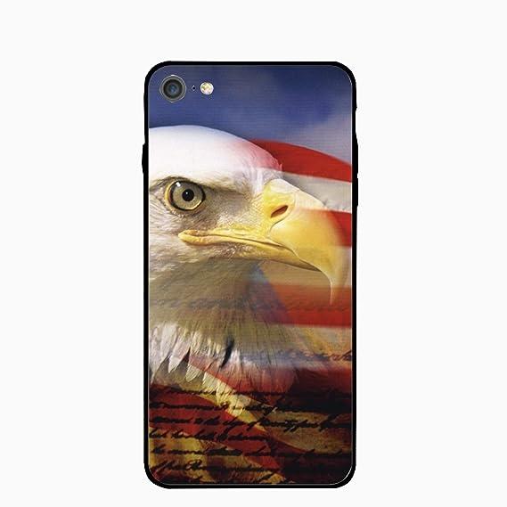 Amazon Com American Flag Eagle Wallpaper Stylish Iphone 7 Case Slim