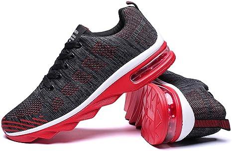 Shoe house Mens Zapatillas Deportivas Zapatillas de Running Fitness Gimnasio Transpirable Knit Calzado Zapatillas de Aire: Amazon.es: Deportes y aire libre