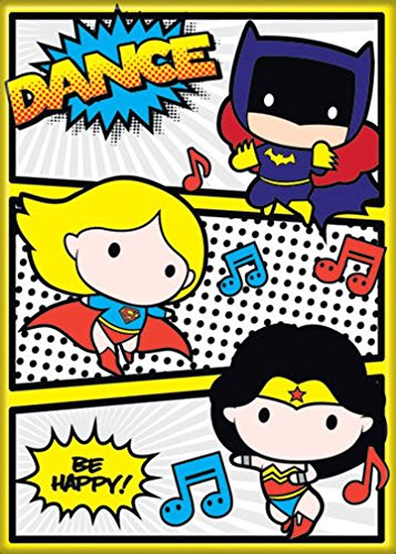 Ata-Boy DC Comics Chibi Batgirl, Supergirl and Wonder Woman Dance Party 2.5