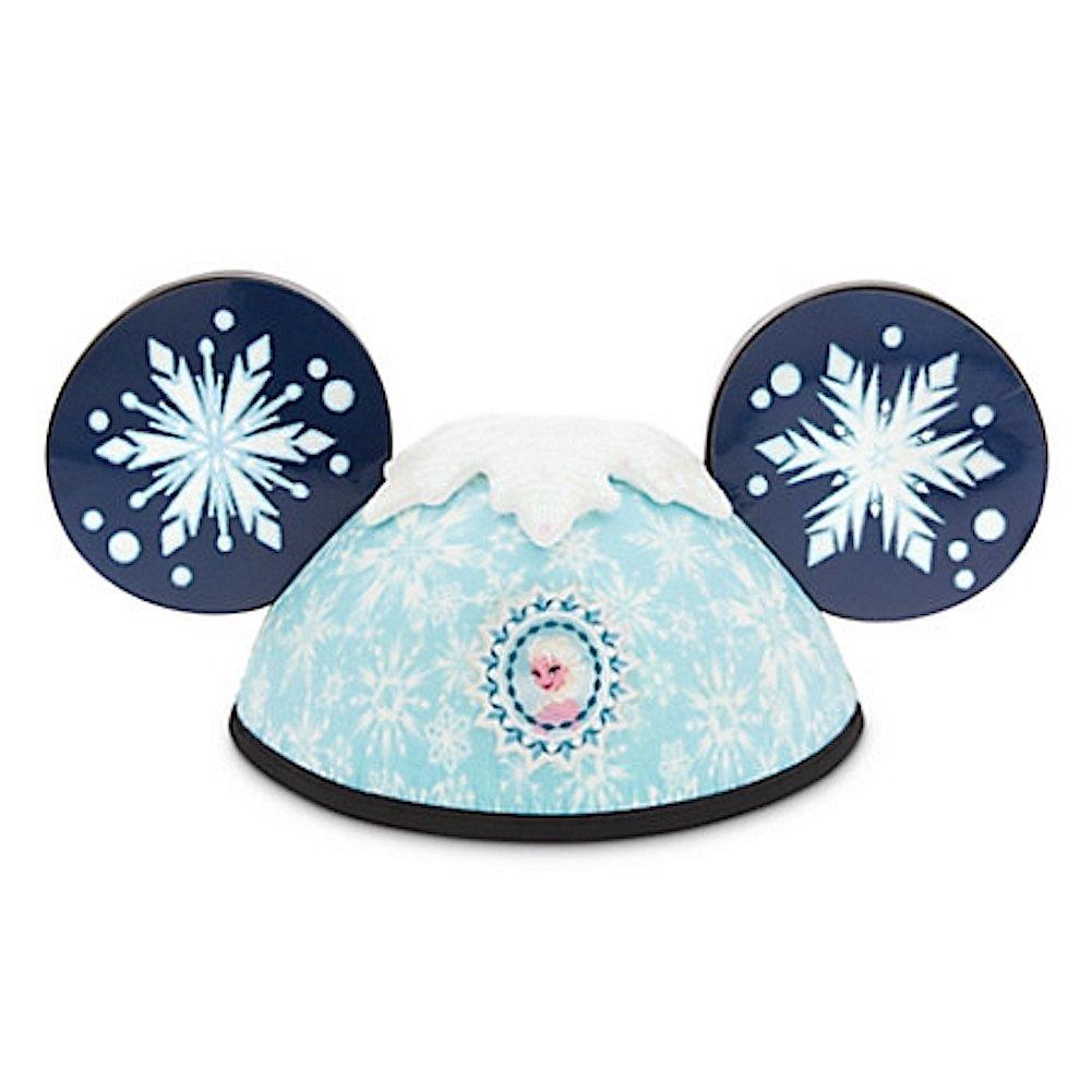 Disney Parks Frozen Elsa Anna 2 Side Mickey Mouse Ears Hat Adult Size