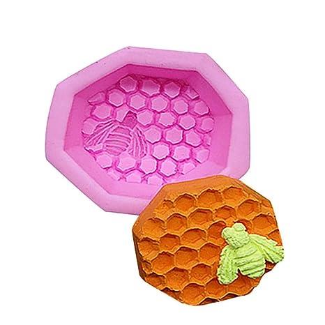 TAOtTAO - Molde de Silicona para repostería, diseño de Abeja en 3D, Ideal para