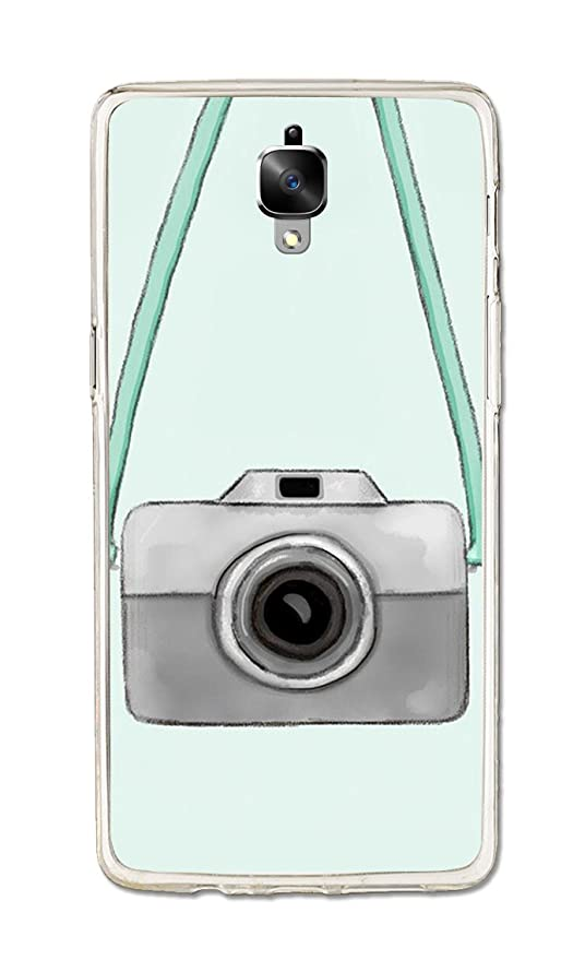 promo code 2693e fc131 OnePlus 3T Case, One Plus 3 Case, Camera Vector Green: Amazon.in ...