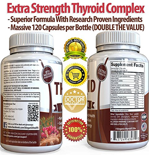 Review BioGanix Thyroid Support Supplement