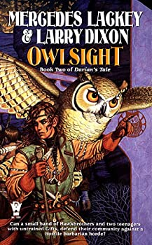 Owlsight by Mercedes Lackey fantasy book reviews
