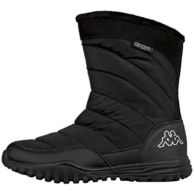Kappa Damen Laika Combat Boots, Schwarz (1111 Black), 38 EU