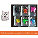 Dadiii Soft Cat Nail Caps, 120PCS Soft Claws Paws