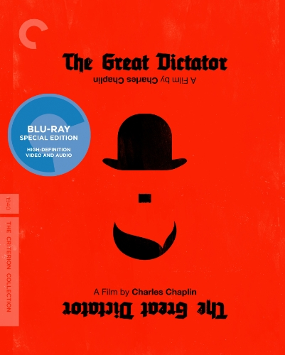 Blu-ray : The Great Dictator (Criterion Collection) (Black & White, Full Frame)