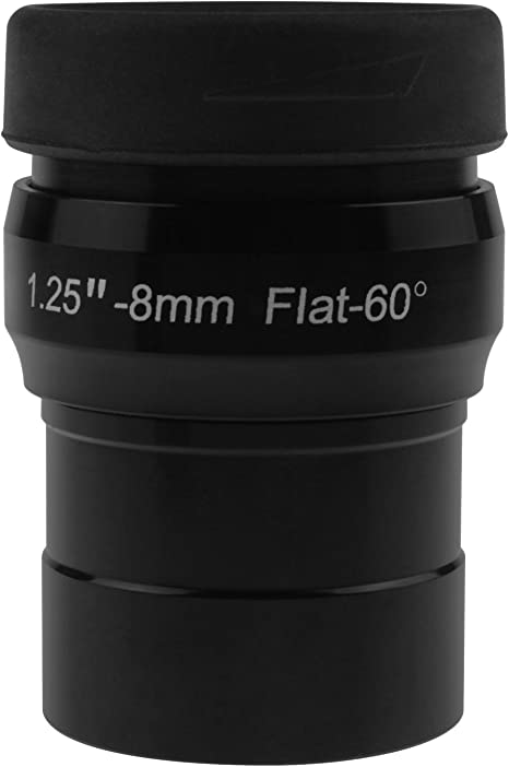 a flat image field and crystal-clear images Alstar 1.25 16mm premium flat field eyepieces