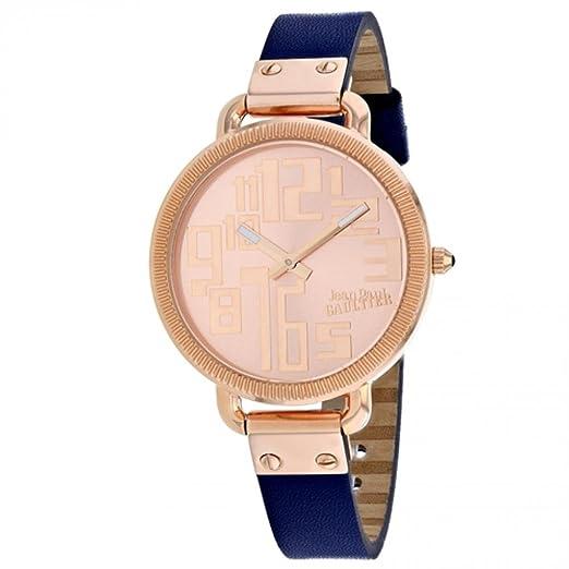 Jean Paul Gaultier Index Reloj de mujer cuarzo correa de acero 8504306: Amazon.es: Relojes