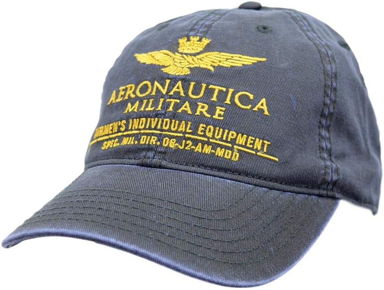 Aeronautica Militare - Gorra de béisbol HA1014, Unisex, Azul ...