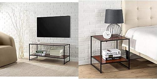 Zinus Modern Studio Collection TV Media Stand/Table/Good Design Award Winner
