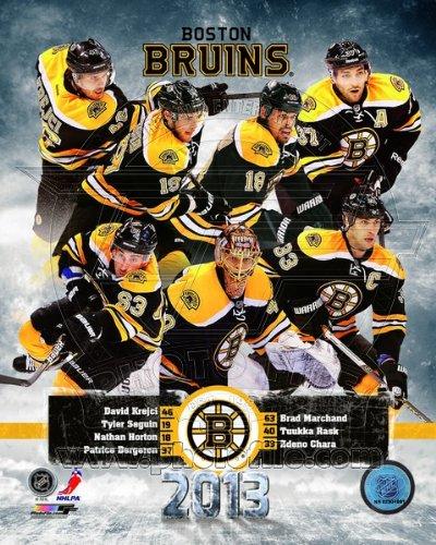 Boston Bruins 2013 NHL Team Composite Photo 8x10 ()