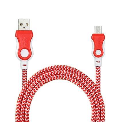 Cargador movil Android , Amlaiworld Cable de cargador universal Micro USB Cable de carga para teléfono