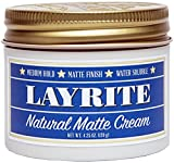 Layrite Natural Matte Cream Pomade, 4.25 oz.