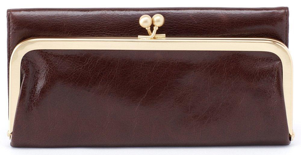 Hobo Womens Rachel Vintage Wallet Leather Clutch Purse (Espresso) by HOBO (Image #1)