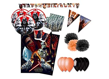 creative-converting Decoraciones de Fiesta Star Wars Kit 46f
