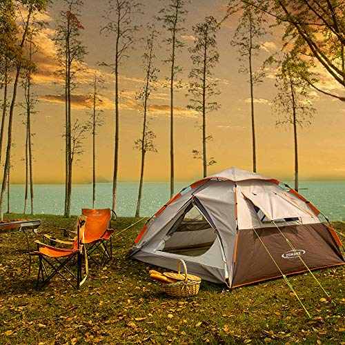 Zomake Instant Tents For Camping 2 3 4 Tiendamia Com