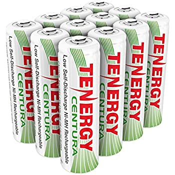 Amazon.com: Tenergy AA Rechargeable NIMH Battery 2000mAh