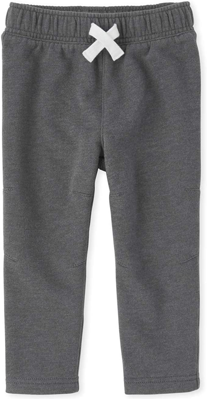 The Childrens Place Baby Boys Marled Athletic Pant