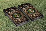 US Army Regulation Cornhole Game Set Bricks Version