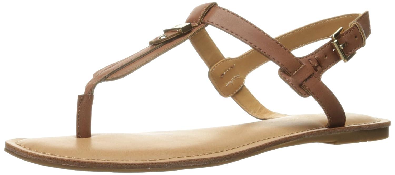 Tommy Hilfiger Women's Landmark Flat Sandal B01M3SLGRM 10 B(M) US|Tan