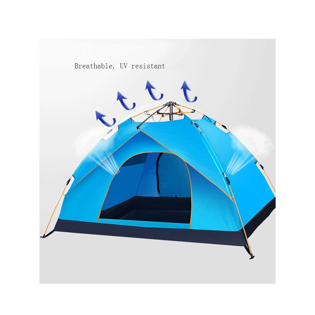 Dome Tiendas prueba de campaña a prueba Tiendas de agua, Tienda de campaña portátil, Tienda de campaña automática Explorer Camping exterior, Tienda de campaña al aire libre para 3-4 personas Campo de camping familia 2c59dd