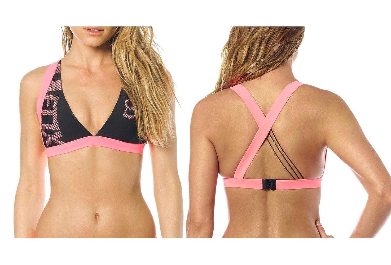 Fox Womens Diviner Bikini Top Color: Black 18650 Size: Medium