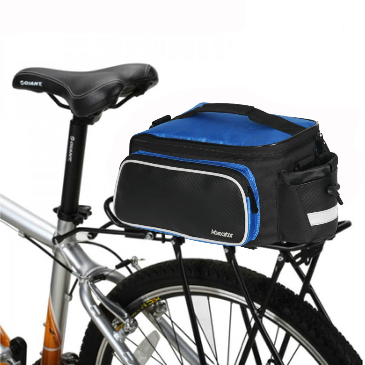 Advocator 20-35L Durable Bike Pannier Bag Shoulder Strap Rack Rear Trunk Tote Bag Shoulder Strap Tail Back Seat Storage Package Bicycle Bike Rear Trunk Bag Bike Accessories