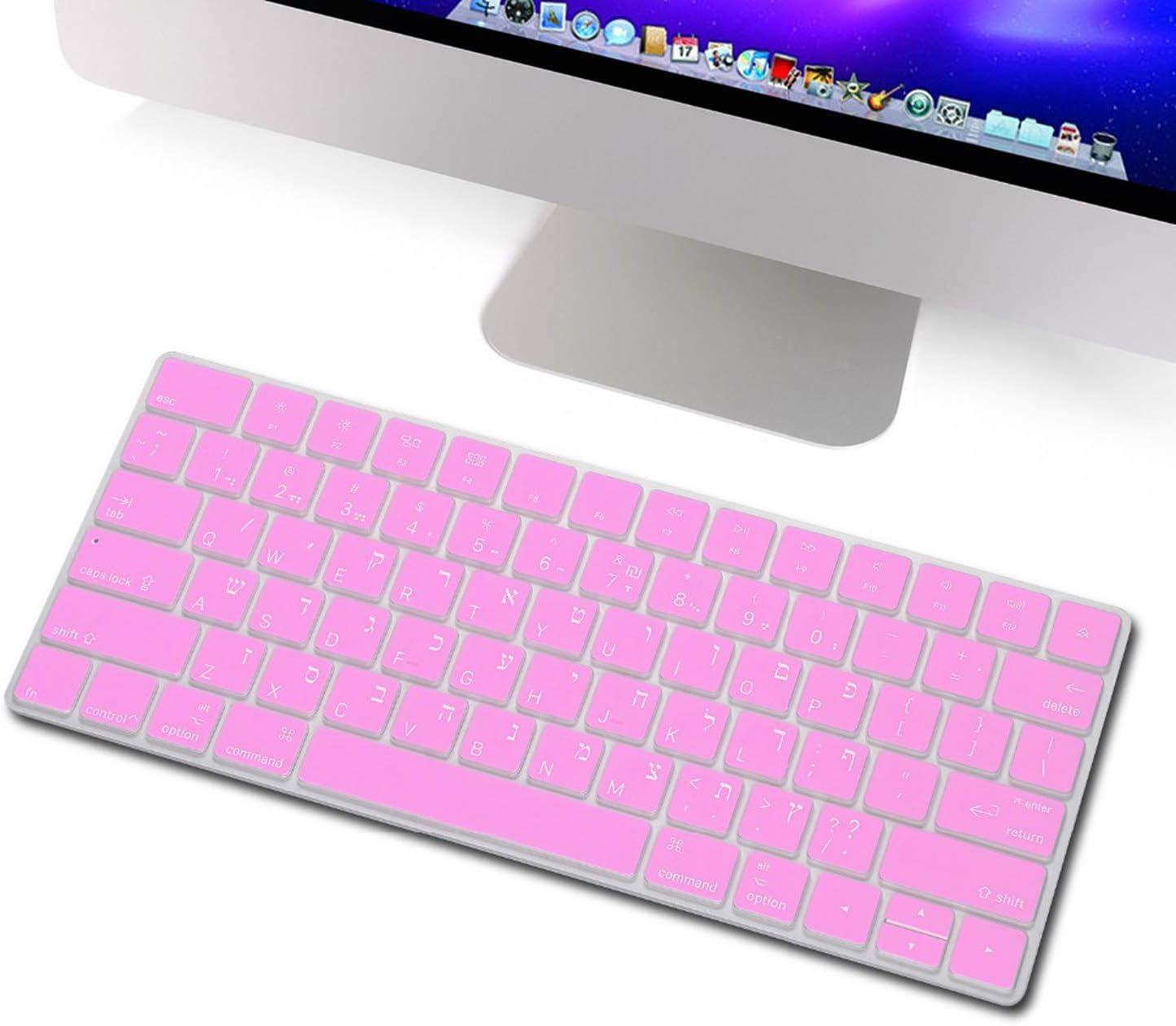 Keyboard Cover for Magic Keyboard Black Silicone Keyboard Skin for Wireless Magic Keyboard-One/_Color