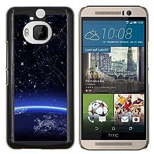 """Be-Star Único Patrón Plástico Duro Fundas Cover Cubre Hard Case Cover Para HTC One M9+ / M9 Plus (Not M9) ( Espacio Planeta Tierra Inicio"""" )"""