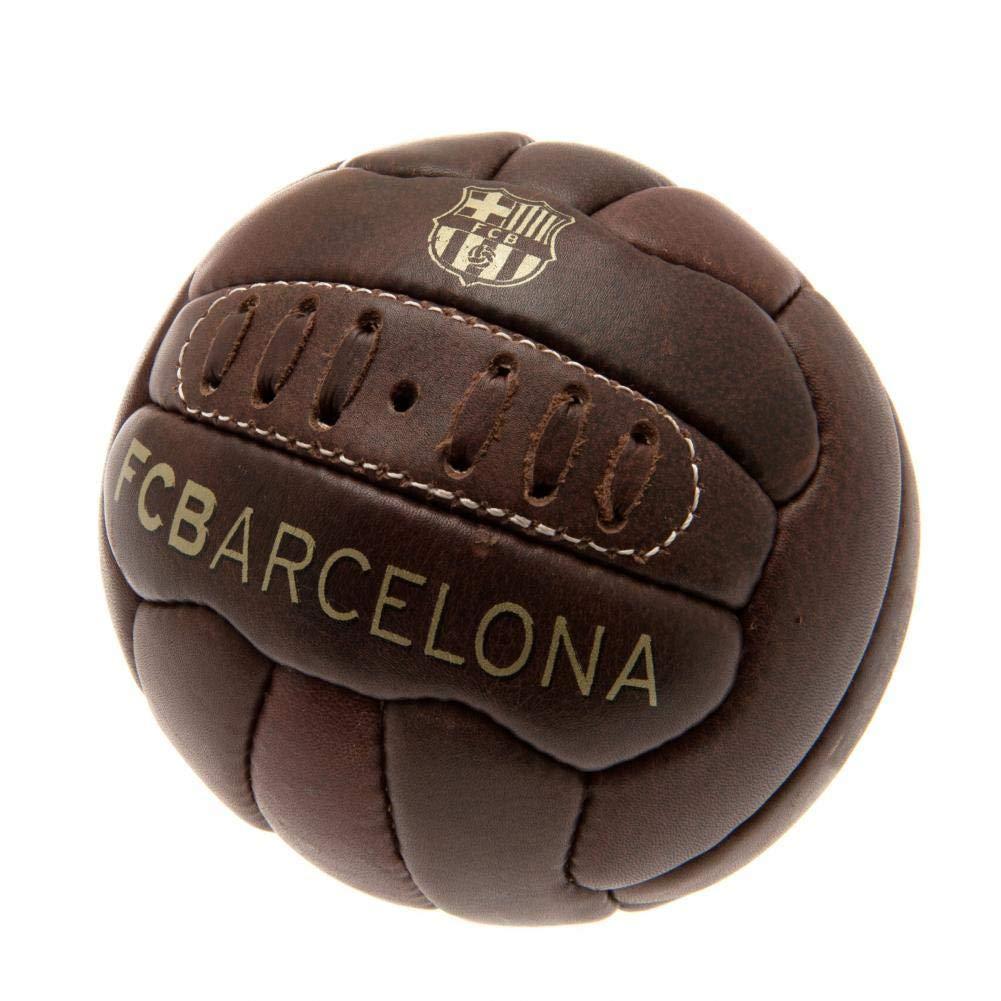 Bal/ón oficial modelo retro Heritage tama/ño mini FCB FC Barcelona