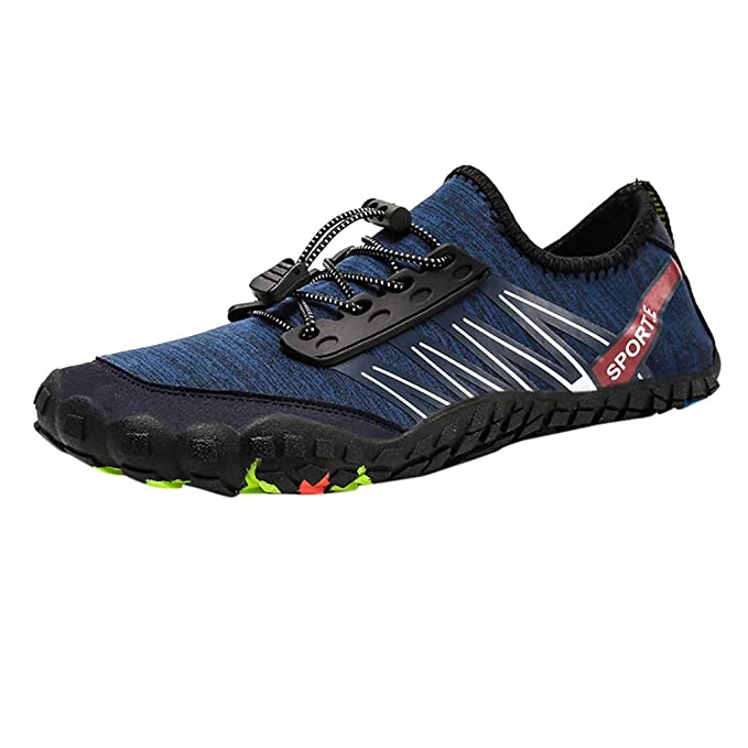 2e759757e034 Amazon.com  NUWFOR Unisex Quick-Dry Water Shoes Pool Beach Swim Drawstring  Shoes Creek Diving Shoes  Clothing