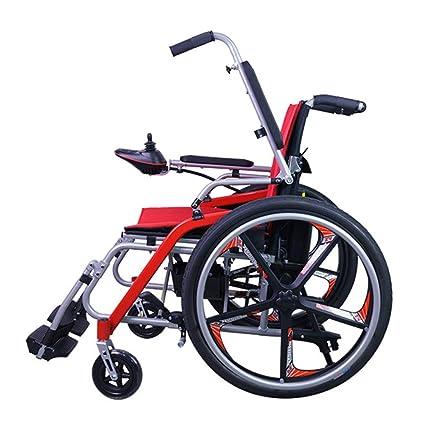 Silla De Ruedas Eléctrica Plegable Ligera, Bicicleta Eléctrica De Cuatro Ruedas Para Discapacitados