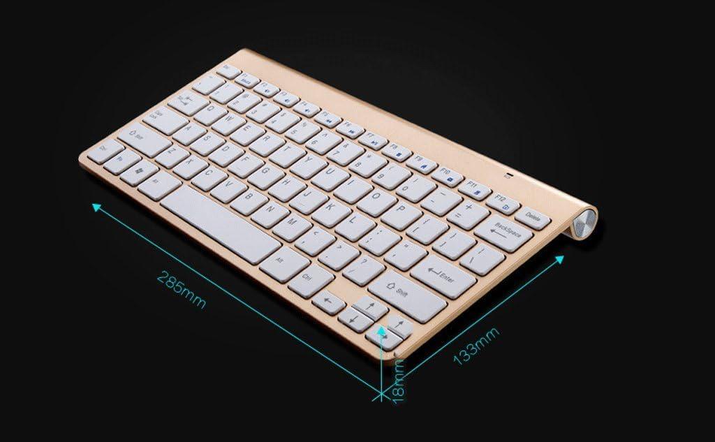Teclado inalámbrico, juego de ratón, 2.4G mini teclado ...
