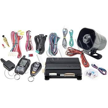 BANVIE Car Alarm RFID Immobilizer Hidden Lock System with Keyless Go
