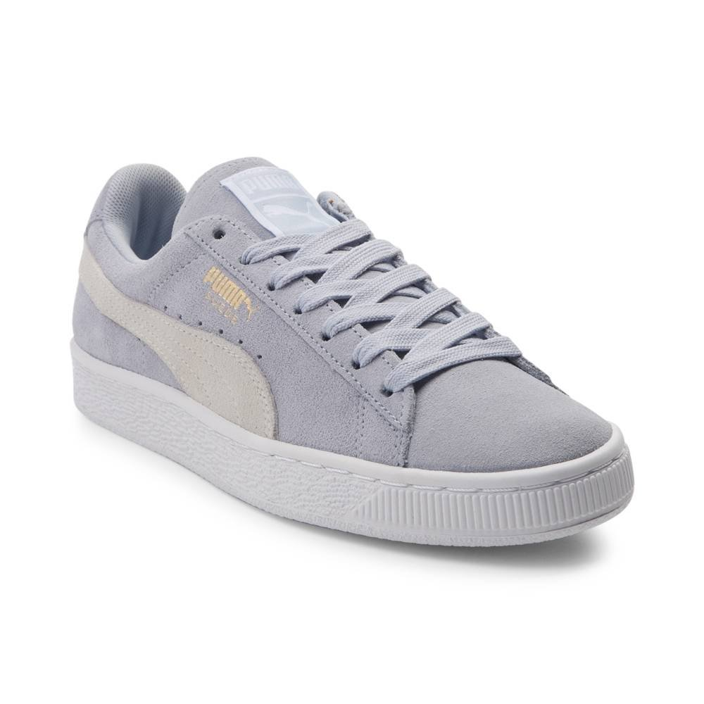 PUMA Women's Suede Mono Satin Platform B076K9NFCZ 6 B(M) US|Suede Light Blue 1666