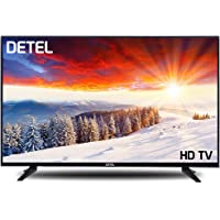 DETEL 80 cm (32 Inches) DI32SF HD LED TV with 1 Year Warranty (Black) (2019 Model)