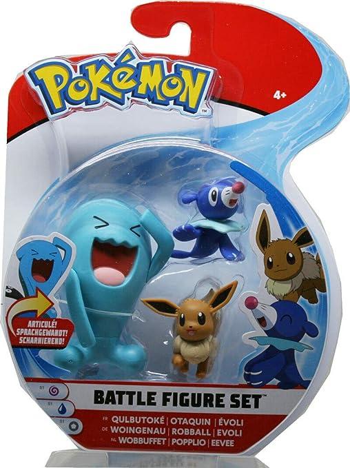 Pokémon ACTION FIGURE BATTLE Figure Set woingenau robball Evoli
