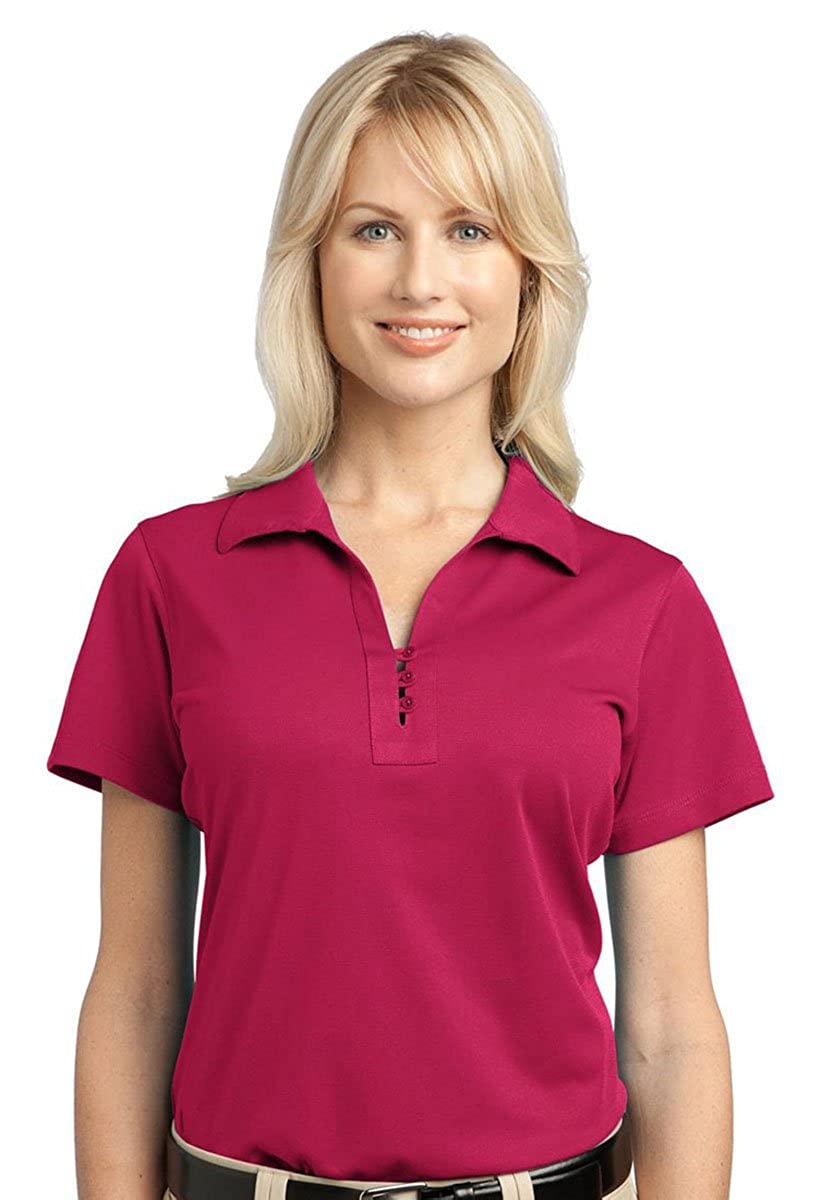 Port Authority Womens Performance Pique Polo Shirt/_Raspberry Pink